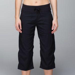 Lululemon Studio Crop Yoga Pants Black Size 6